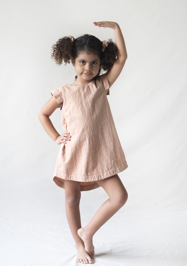 Dusty Rose Dress - Lula Mena