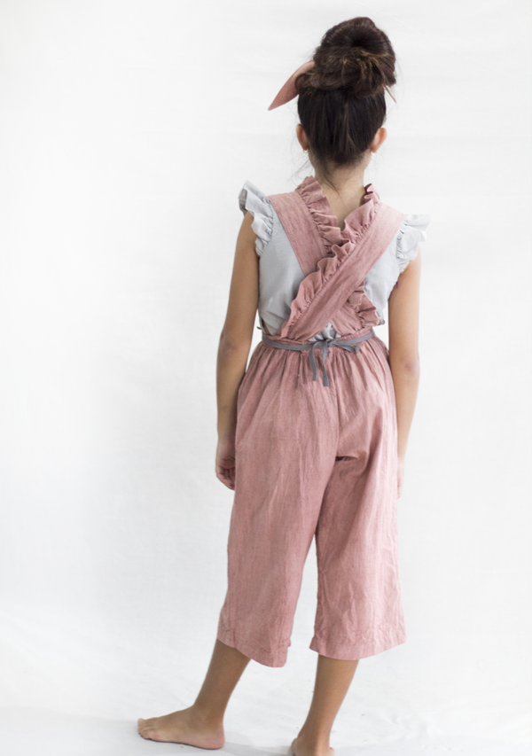 Dusty Rose Overall - Lula Mena