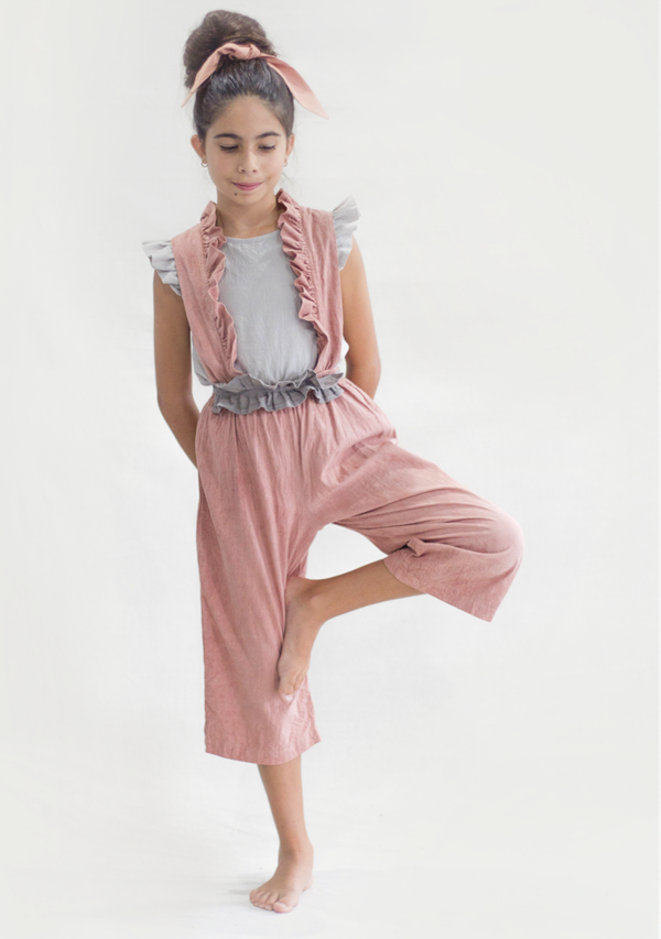 Dusty Rose Overall