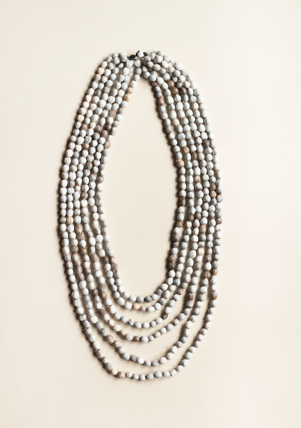 Six Rows St. Peter's Tear Necklace - Lula Mena
