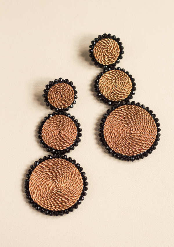 Triple Circle Earrings - Lula Mena