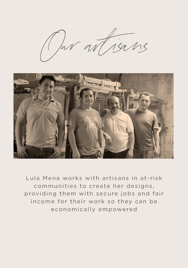 Our Artisans - Lula Mena