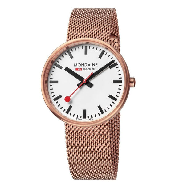 Official Swiss Railways Evo Mini Giant - Rose Gold