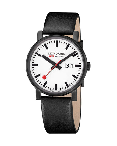Mondaine Evo Black & White