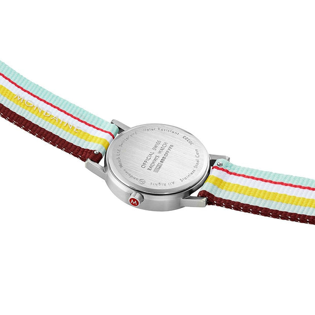 Official Swiss Railways Classic: Petite Silver-Case