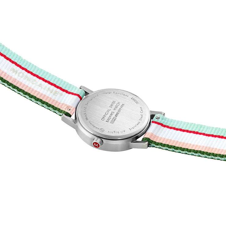 Official Swiss Railways Classic: Silver-Case