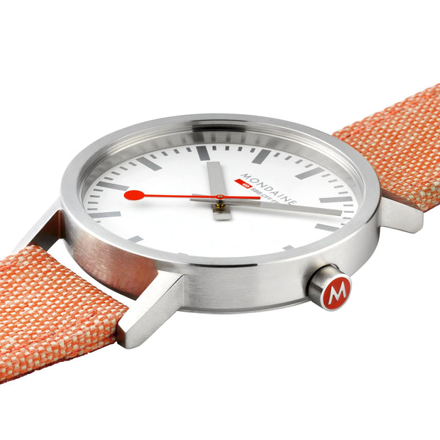 Official Swiss Railways Classic: Large Silver-Case