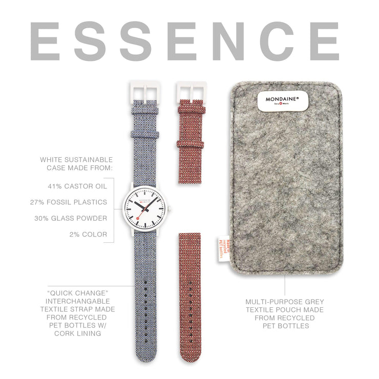 Essence Sustainable Materials Large White Case