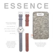 Essence Sustainable Materials: Petite White Case