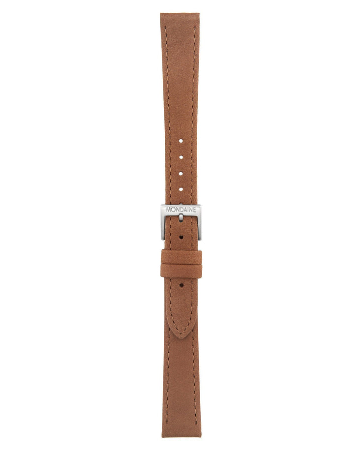 Helvetica No1 Light Brown Leather Strap - Mondaine