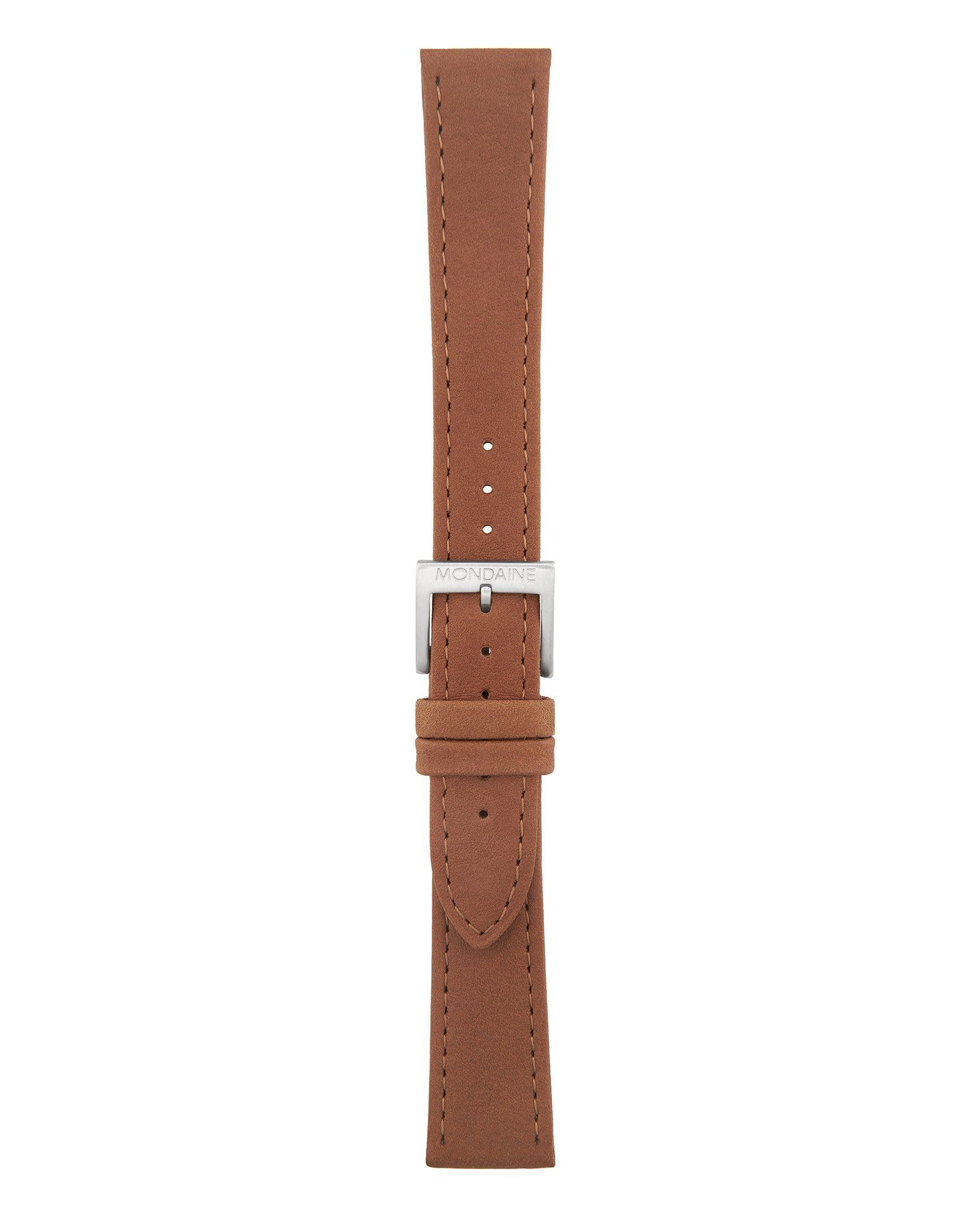 Helvetica No1 Light Brown Leather Strap