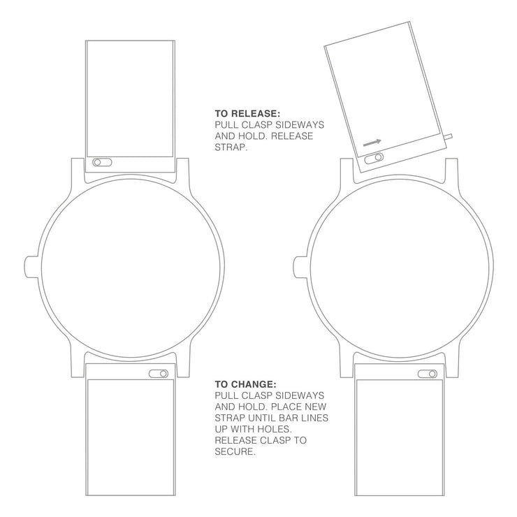 Sustainable Materials: Petite White Case Watch