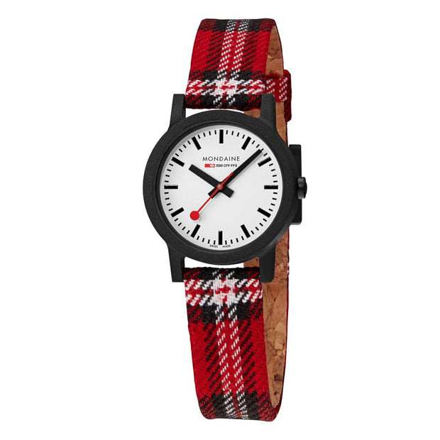 Essence Petite Black Case Plaid