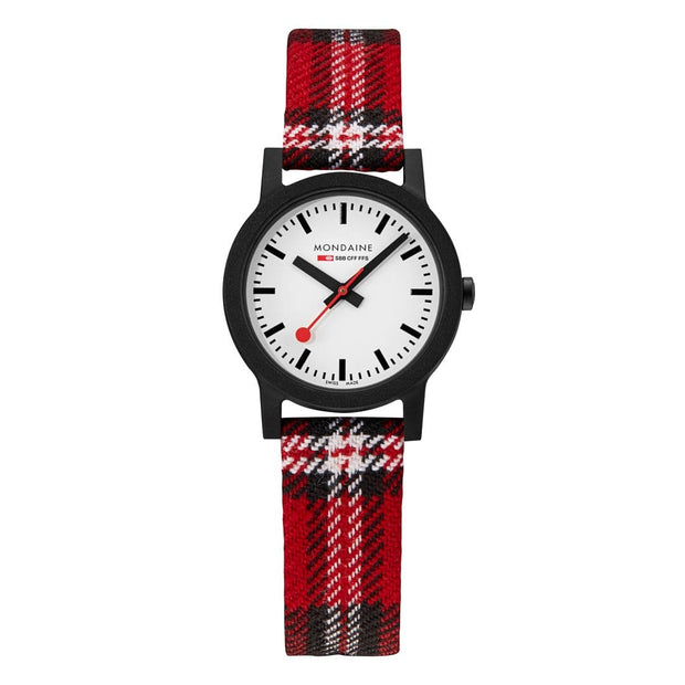 Essence Sustainable Materials Petite Black Case Plaid