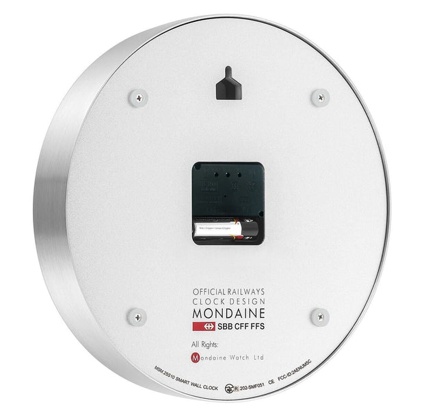 Mondaine Smart stop2go Clock