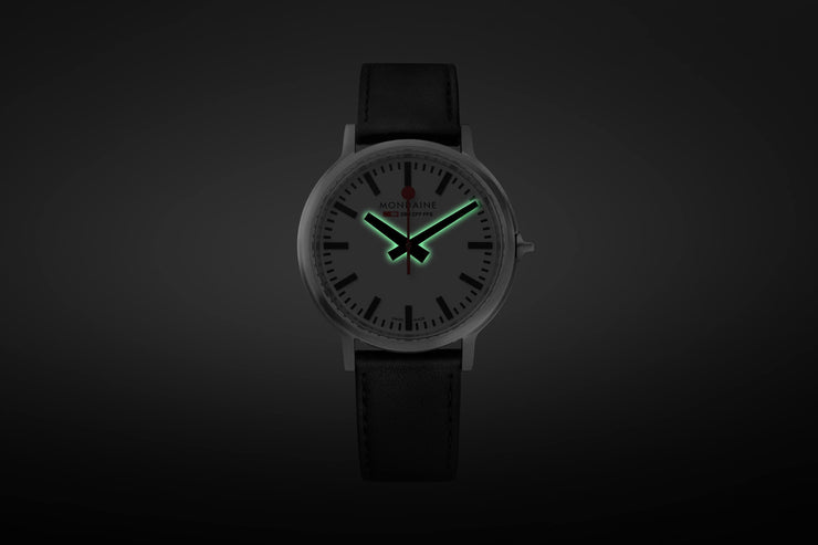Mondaine Official Swiss Railways stop2go BackLight