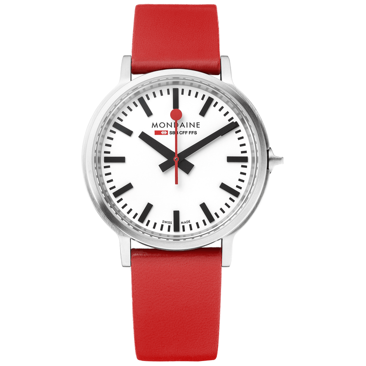 Mondaine SBB stop2go BackLight Red - Mondaine