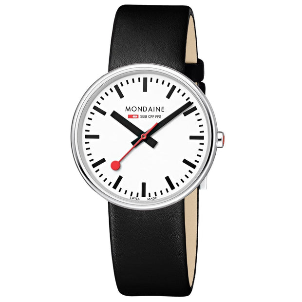 Official Swiss Railways Watch Giant Backlight from Mondaine