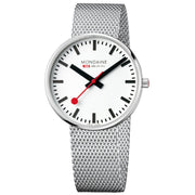 Mondaine Stainless Steel Official Swiss Railways Giant Backlight