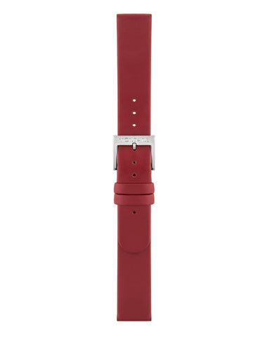 Red Leather Strap Polished
