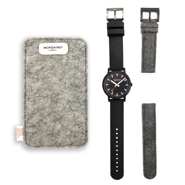 Essence Sustainable Materials Large Black Case Set