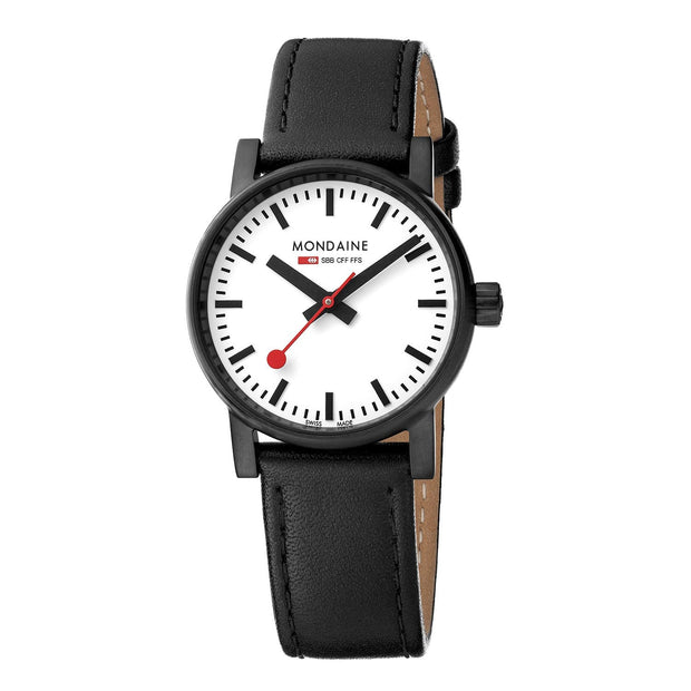 Official Swiss Railways Evo2: Petite Black-Case