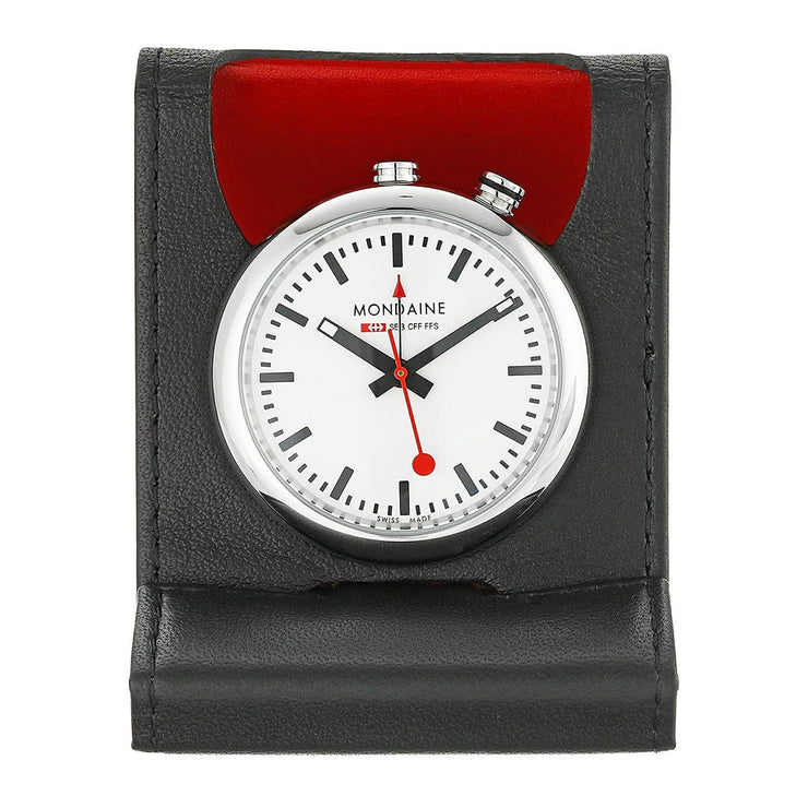Official Swiss Railways Travel Alarm Clock