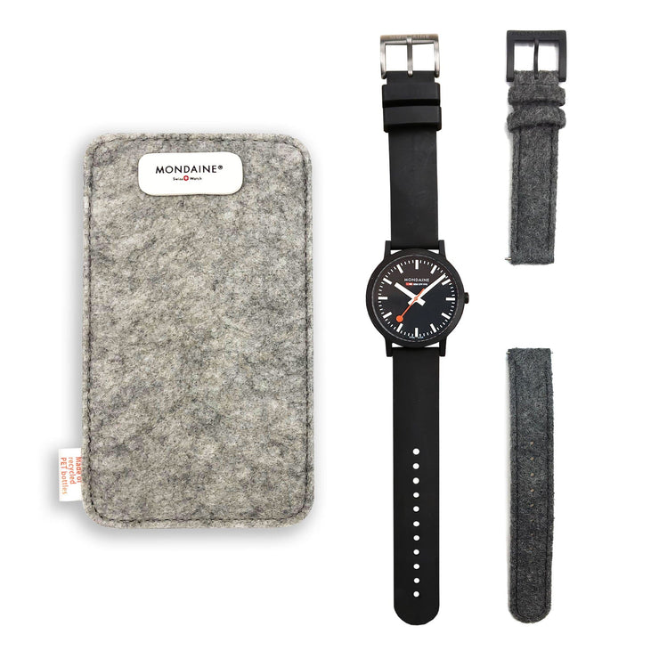 Sustainable Materials: Petite Black Case Set