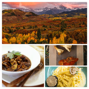 Fall Recipes Using Game, Wild Mushrooms, and Truffles