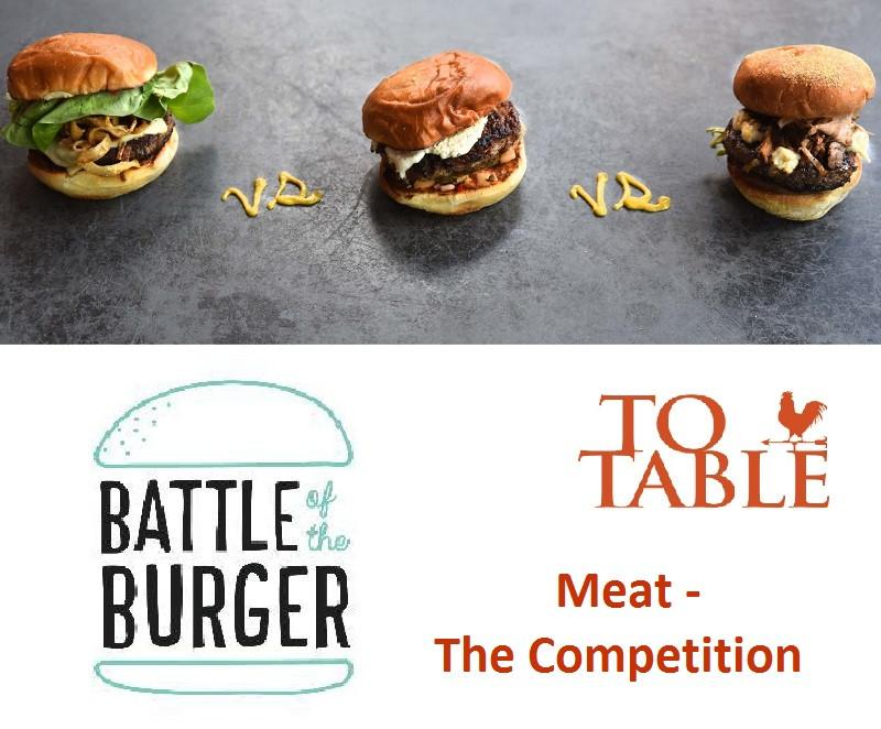 Battle of the Burger - Meat - the Competition -  3 month (6 Delivery) Subscription - Shipping Included