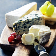 Gourmet International Cheeses with Charcuterie