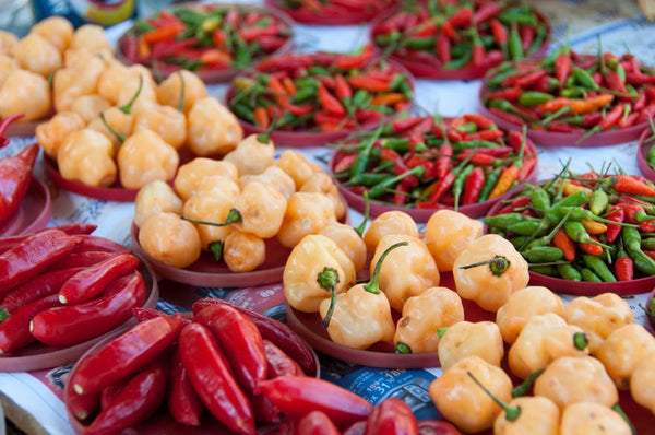 Chilis and Peppers - Hot and Mild