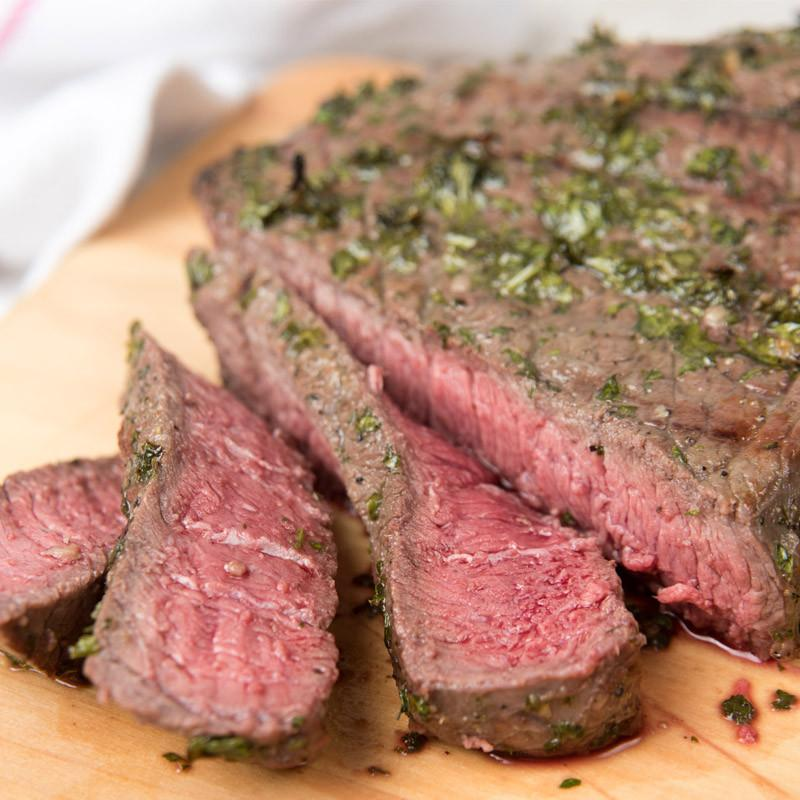 Beef - Grass Fed - 10 ea. 10 oz Steaks (12-17 servings)