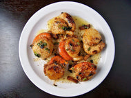 Fresh Diver Scallops from Maine -