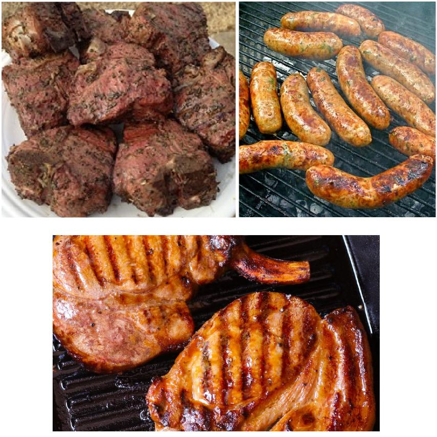Grilling Package: Chop & Brats