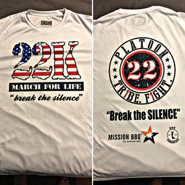 22 March for Life - DryFit (Short Sleeve)