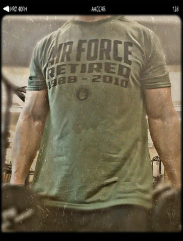 Armed Forces T-Shirt (Retired, Active or Veteran) - OG Green