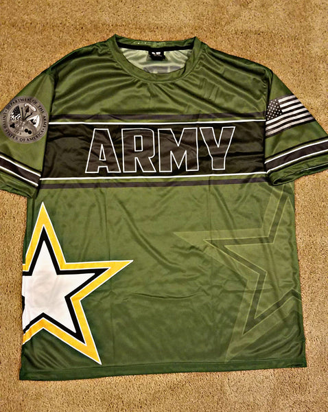 Armed Forces Jerseys (Olive Drab)