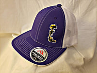 Hat. Purple w/ Gold/White Logo