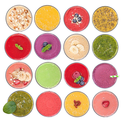 Colorful Eats: My Healthy Energy Blast Smoothie Recipe - JulRe Designs LLC