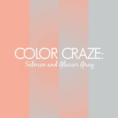 Color Craze: Salmon and Glacier Gray - JulRe Designs LLC