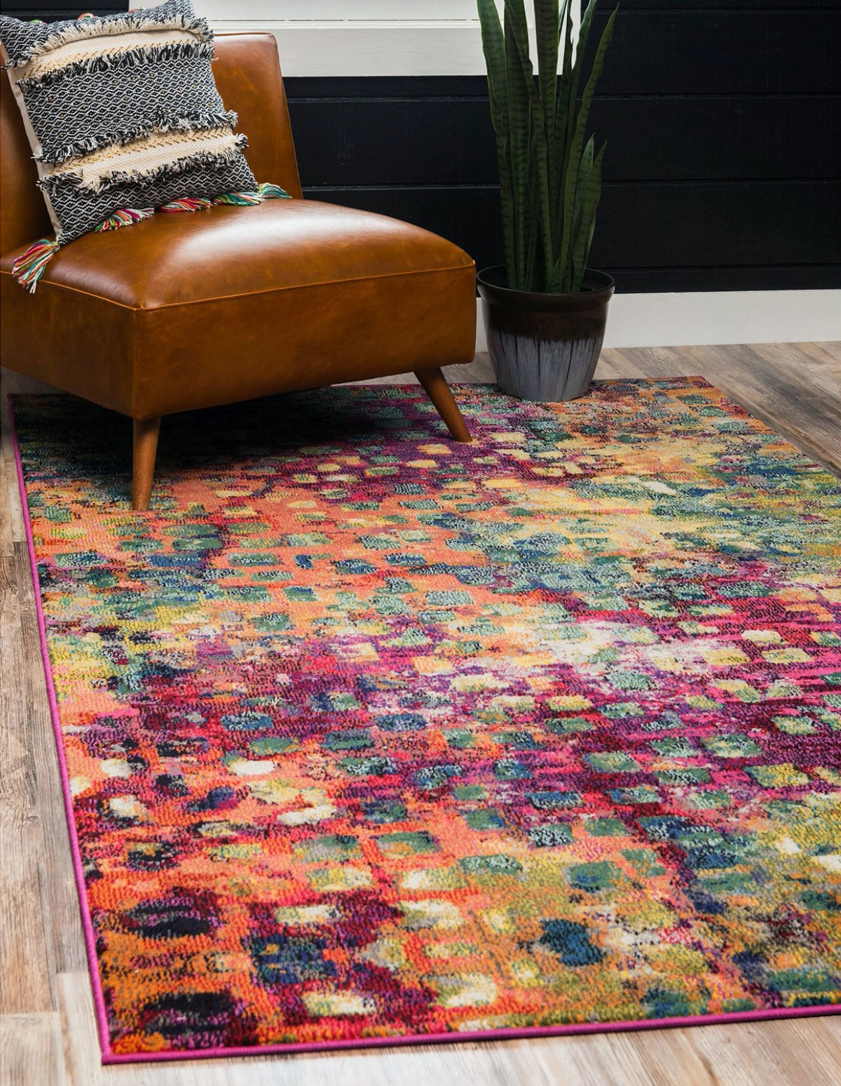 Bridgeport Home Adah Ada1 Multi Area Rug - Macy's