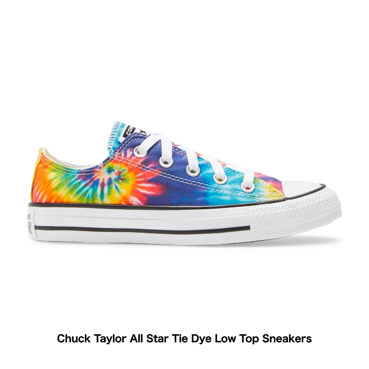 Chuck Taylor All Star Tie Dye Low Top Sneakers - Nordstrom
