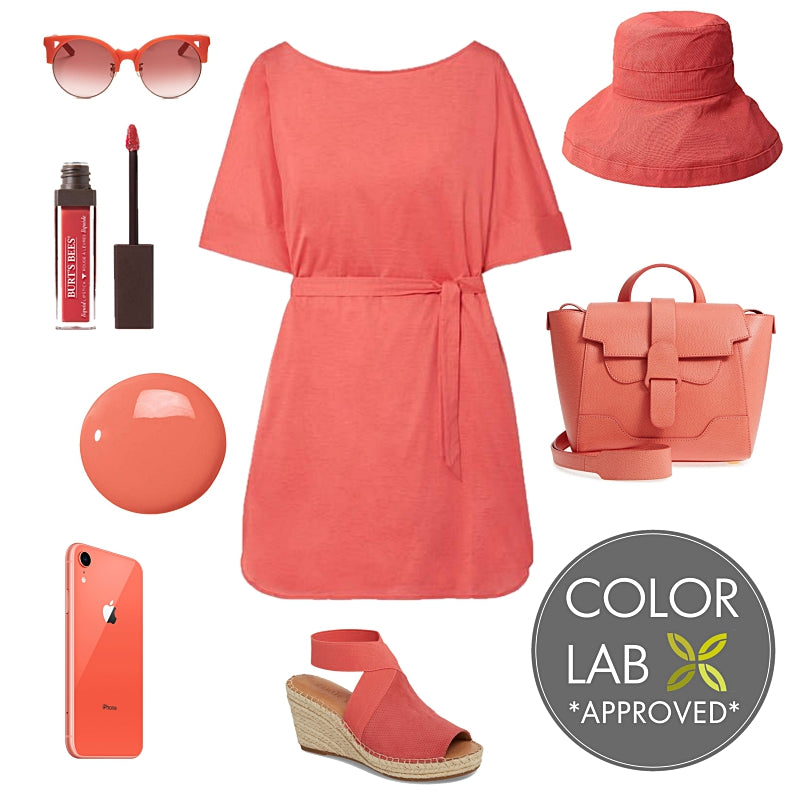 Living Coral Styleboard