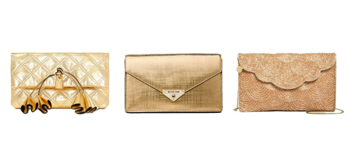 Metallic Gold Clutch Handbags - Bloomingdales