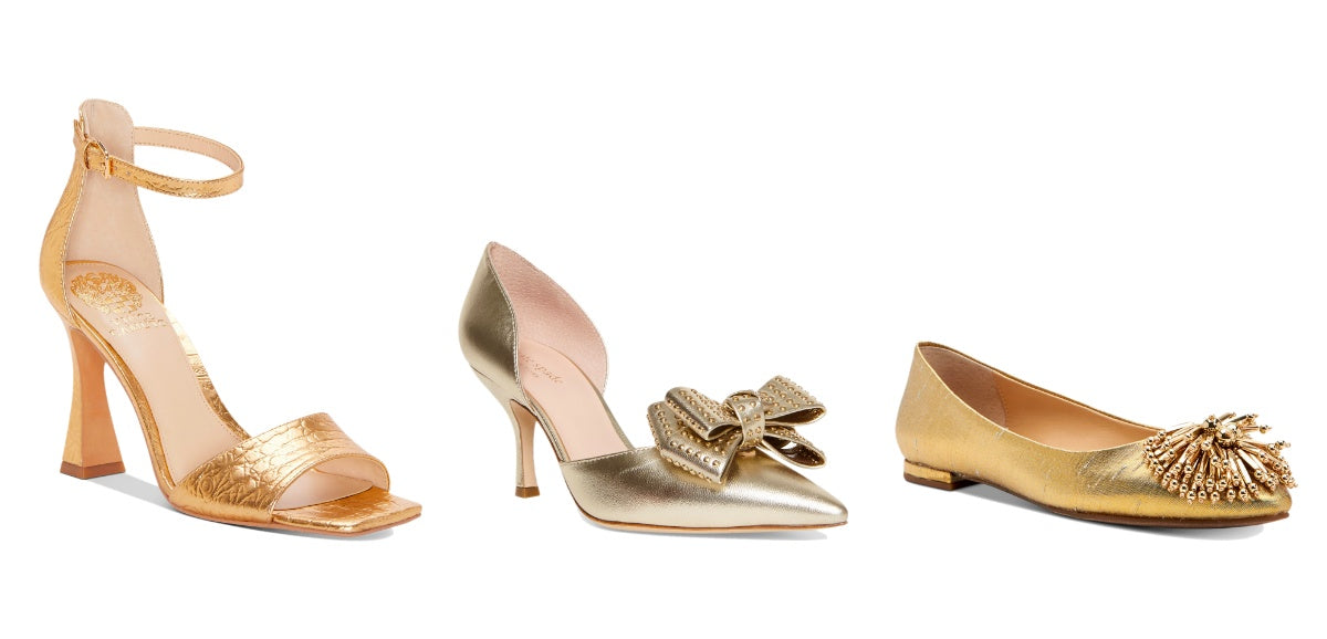 Metallic Gold Shoes - Macy's