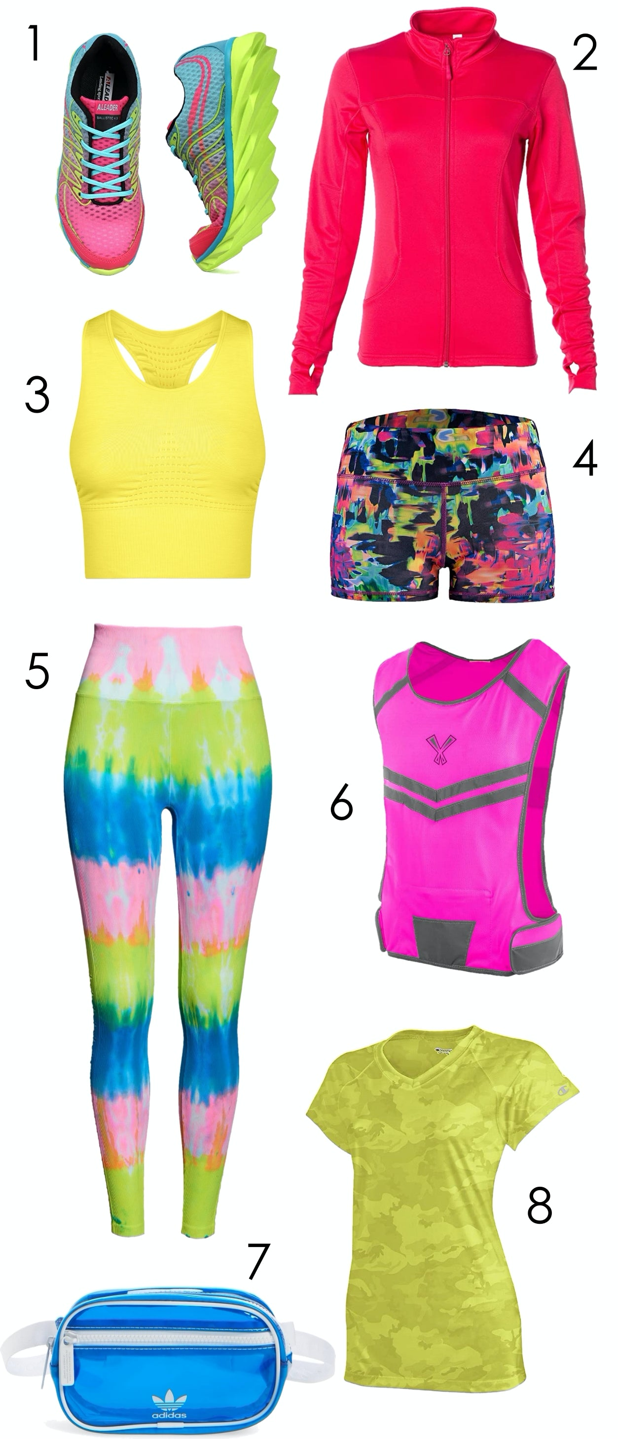 Color Craze: Activewear in Pulse-Racing Neon