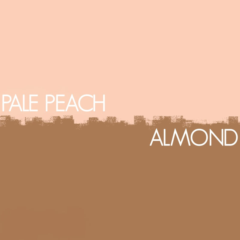 Pale Peach and Almond