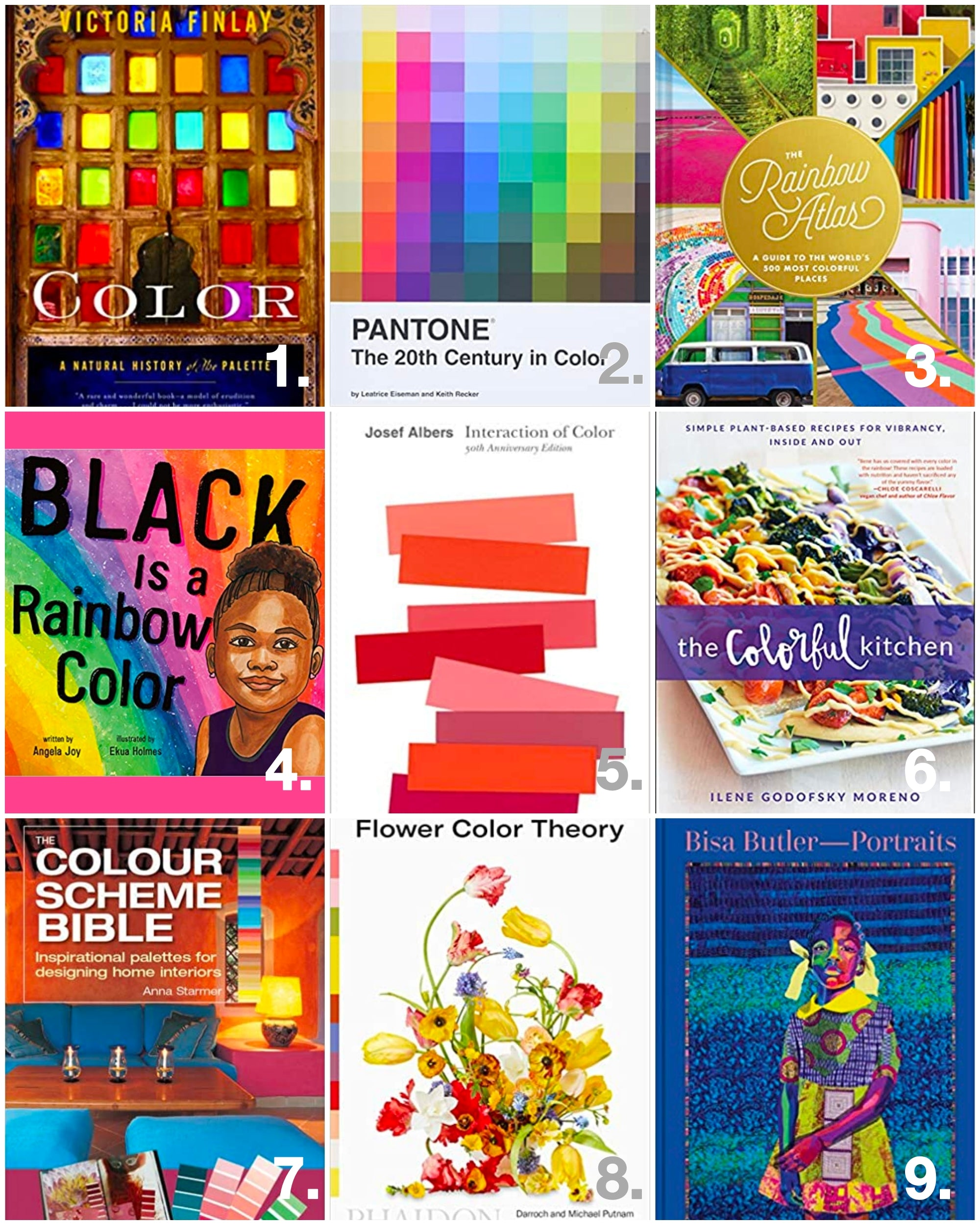 Colorful Craze: 9 Must-Read Books for Every Color Lover