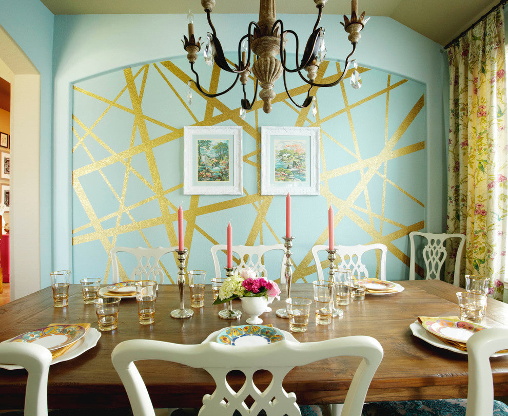 Dazzling Dining Room by Pink Door Designs - Houzz